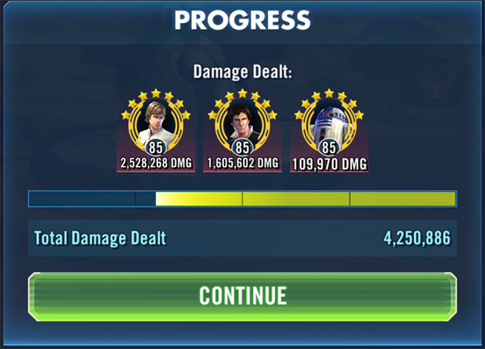 SWGOH Tools - Tank Takedown/HAAT Squad Recommendations